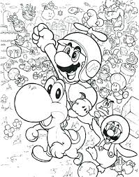 Coloring Pages Luigi Coloring Pages Free Page Printable And X Bros