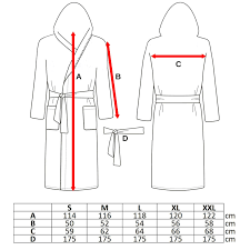 Bathrobe Size Chart Details About Mens Ladies 100 Cotton Hooded Bathrobe Towelling Bath Robe Dressing Gown