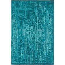 elegant maya turquoise 4 ft x 6 ft indoor area rug