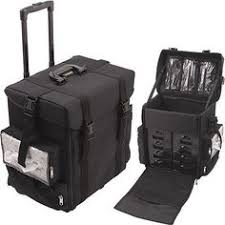 large soft sided professional makeup artist rolling case multi functional c6024