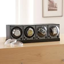 stay on time our watch winders for brookstone watch winders set power base
