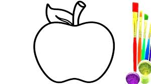 Coloring Pages For Apples Zupa Miljevcicom