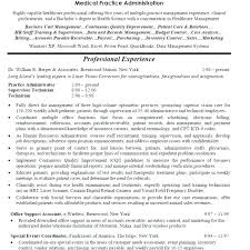 Medical Resume Templates Magnificent Resume Examples Office Manager Office Resume Objective Manager