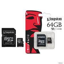 Thẻ nhớ 64Gb Kingston class10 tốc độ 80mb/s - Thẻ nhớ và bộ nhớ mở rộng