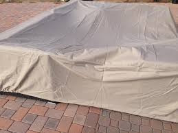 outside patio furniture covers. Amazon.com : All Weather 8\u0027 X Outdoor Patio Furniture Cover In Beige - Heavy Duty Garden \u0026 Outside Covers