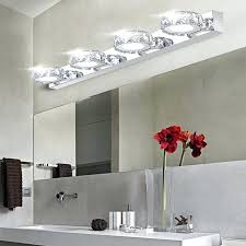 vanity bathroom lighting. Appealing Bathroom Vanity Lighting Design Photo 5 Of 8 Polished Nickel Led .
