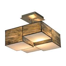 elk 72071 2 cubist contemporary brushed nickel flush mount light fixture loading zoom