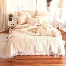 velvet duvet cover king quilted comforter for summer bedding set filling cotton crushed