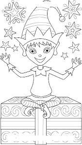 Elf On The Shelf Coloring Page Buddy The Elf Coloring Pages Elf On