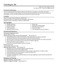 Sample Registered Nurse Resume Nurse Resume Sample Sample Resume