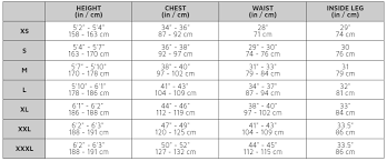 Gill Gloves Size Chart Size Chart