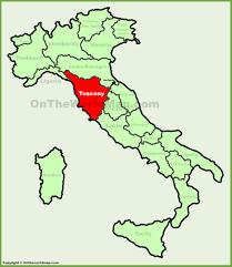 tuscany maps  italy  maps of tuscany (toscana)