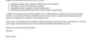 Examples Of Public Relations Resumes Resume Public Relations Resume