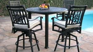 outdoor table and chairs outdoor furniture outdoor bar furniture balcony height patio furniture outdoor