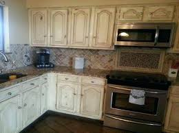 how to distress kitchen cabinets image of distressed white pictures diy oak