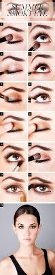 bronze smoky eye makeup tutorial