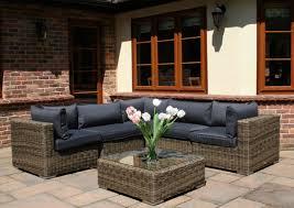 garden sofa set rattan. 6 piece mayfair modular rattan garden furniture set sofa