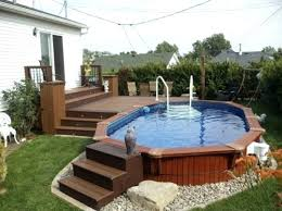 above ground swimming pool ideas. Backyard Above Ground Pool Ideas With Deck Impressive  Pools Designs Swimming