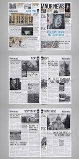 Newspaper Template Indesign 30 Professional Indesign Newspaper Templates