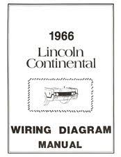 lincoln car and truck manuals lincoln 1966 continental wiring diagram manual 66