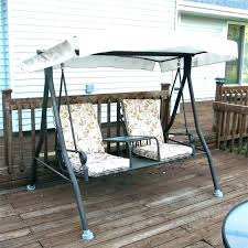 outdoor glider canopy replacement favorite swing with patio remarkable amazing home design ideas