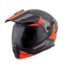 Scorpion Exo Exo At950 Neocon Orange Modular Helmet 95 1024