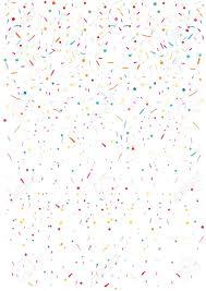 Colorful Confetti Vector Background Vertical Square Pattern