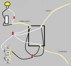 wire a light switch diagram outlet images wiring a light wiring a light switch and outlet diagram