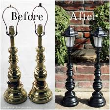 diy outdoor solar lighting ideas. thee kiss of life upcycling: upcycled solar lamp posts diy outdoor lighting ideas