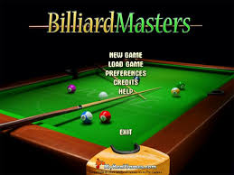free billiard masters 3d game