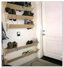 door mounted shoe racks wall shoe rack shoe storage in garage home wall mounted shoe rack