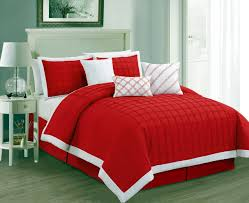 red and white bedding. Perfect Red Red Bedding Sets With Matching Accessories For And White