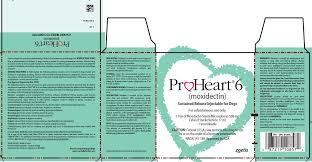 Proheart 6 Dosing Chart Proheart 6 Zoetis Inc Veterinary Package Insert
