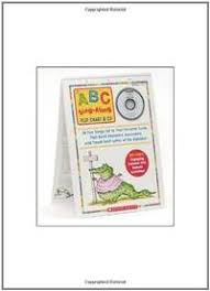 9780439784399 Abc Sing Along Flip Chart And Cd By Teddy Slater