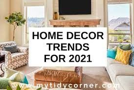 12 latest home decor trends for 2021