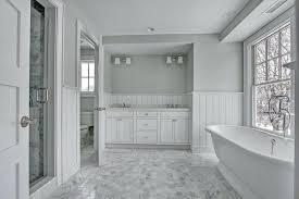half bathroom ideas gray. Grey And White Bathroom Ideas Gray Per Bedroom Design Cottage Master With Wainscoting Tile . Half B