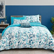 clarissa hulse bamboo bedding in turquoise