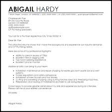 Sample Plumbing Cover Letter Plumber Apprentice Cover Letter Sample Cover Letter Templates
