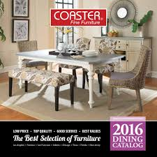 2016 Dining Catalog by Coaster pany of America issuu