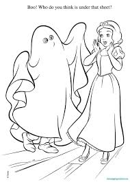 Disney Halloween Coloring Pages Printable Free Coloring Books