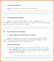 Basic Business Plan Template Basic Business Plan Outline Template