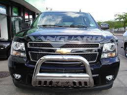 Tahoe 2004 chevy tahoe front bumper : Bull Bar 3″ W. Skid Plate S/S (Design 1) | Auto-Beauty Vanguard
