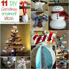 Diy Christmas Decorations 11 Homemade Christmas Ornament Ideas