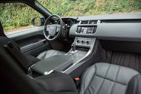 land rover interior 2014. 2014 land rover range sport front interior from back angle 2