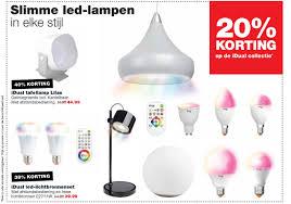 Slimme Led Lampen 20 Korting Op De Idual Collectie Aanbieding Bij