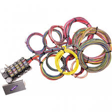 kwik wire 22 circuit complete kit Ford Wiring Harness Connectors Universal Wiring Harness Hot Rod #29