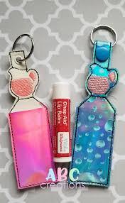 Lip Balm Holder Embroidery Design Lemonade Chapstick Holder Machine Embroidery Design