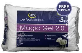 Tempurpedic Pillow Selector Chart Perfect Sleeper Magicgel 2 0 Pillow 2 Pack