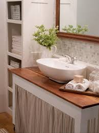 Renovating Small Bathroom 20 Small Bathroom Design Ideas Hgtv