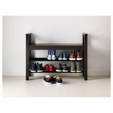 Ikea Shoe Rack Hemnes Bench With Shoe Storage Black Brown Ikea